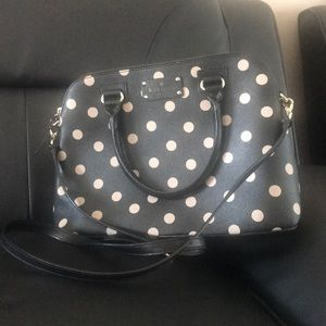 Kate Spade Poka Dot Crossbody Bag